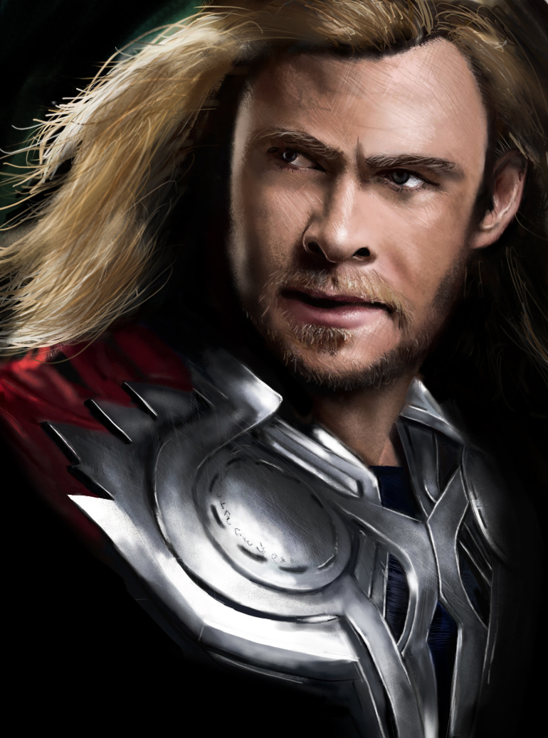 Download The Avengers Thor Wallpaper HD For Free