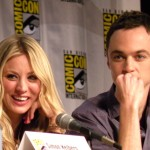 The Big Bang Theory Kaley and Jim Desktop Background