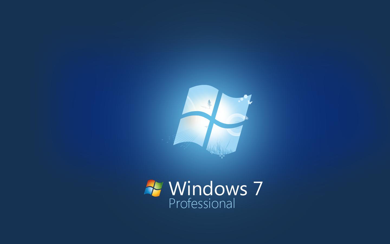 Download Wallpapers Windows 7 4k Se7en Blue Background: HD Wallpapers