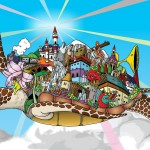 Cartoon Windows 7 wallpaper