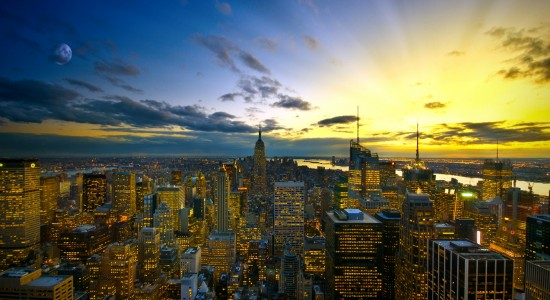 City-sunset-wallpaper