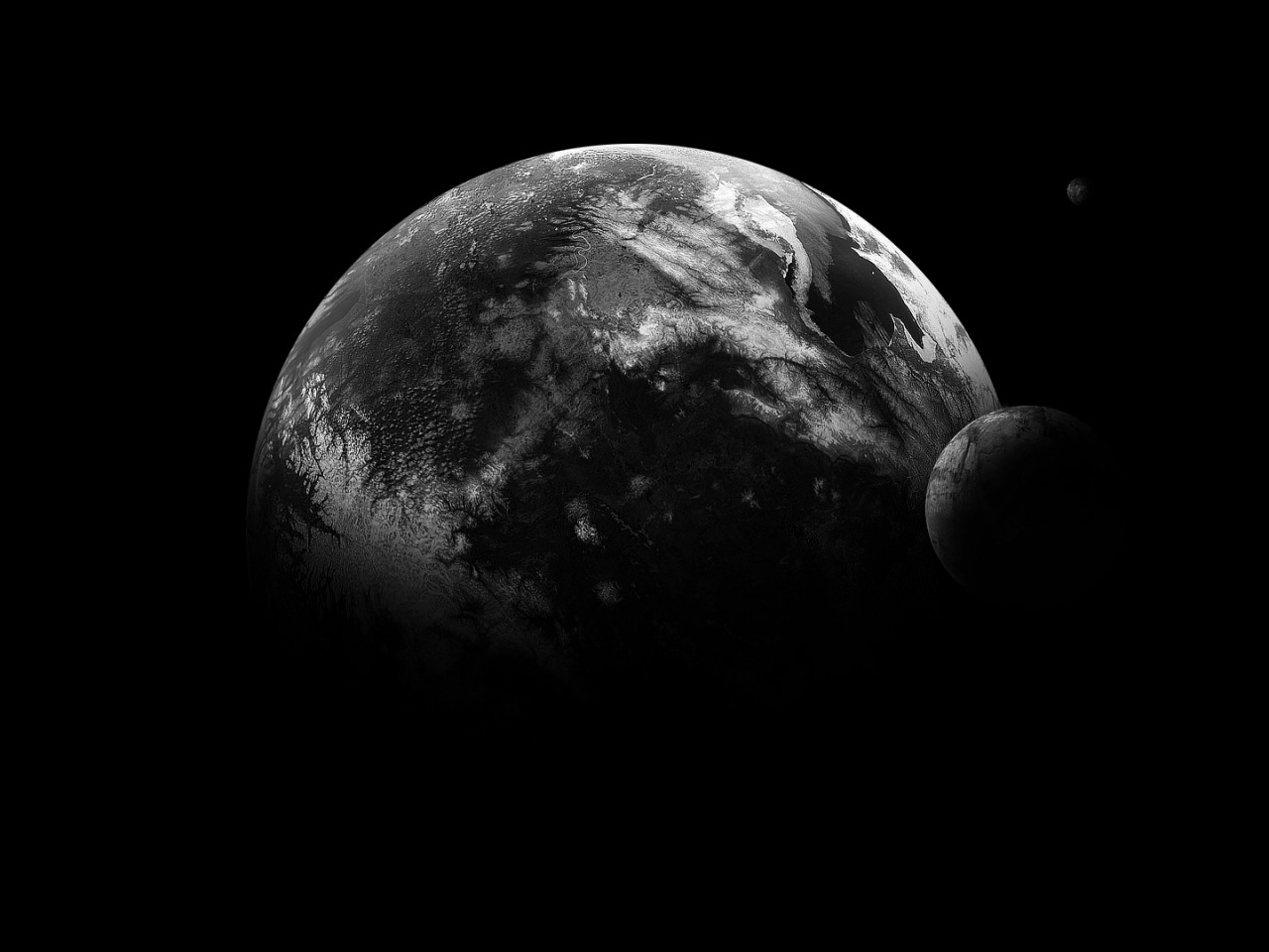 Download 600+ Wallpaper Black Earth  Paling Keren