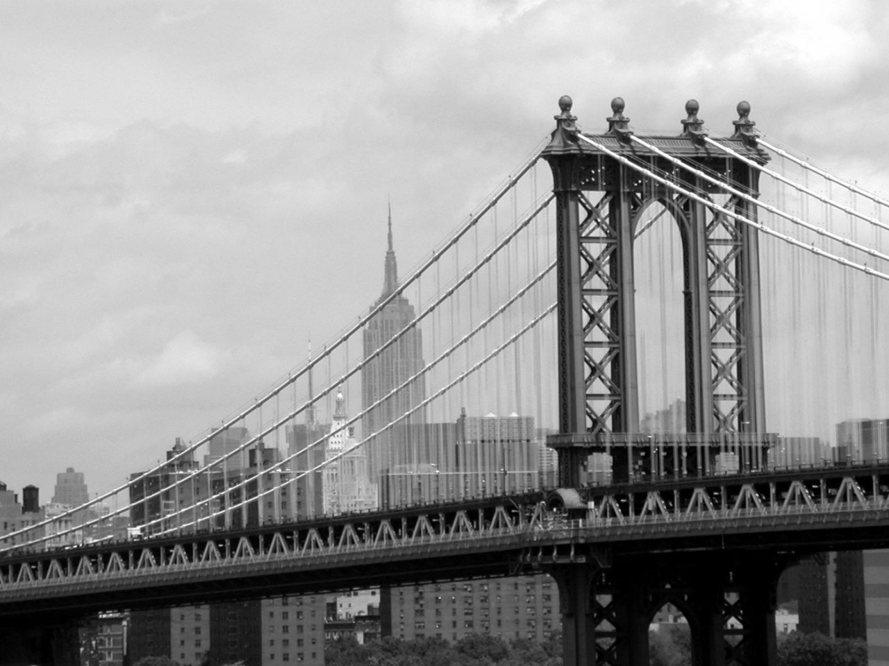 manhattan bridge hd wallpapers