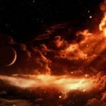 Red Fire-Like Sky