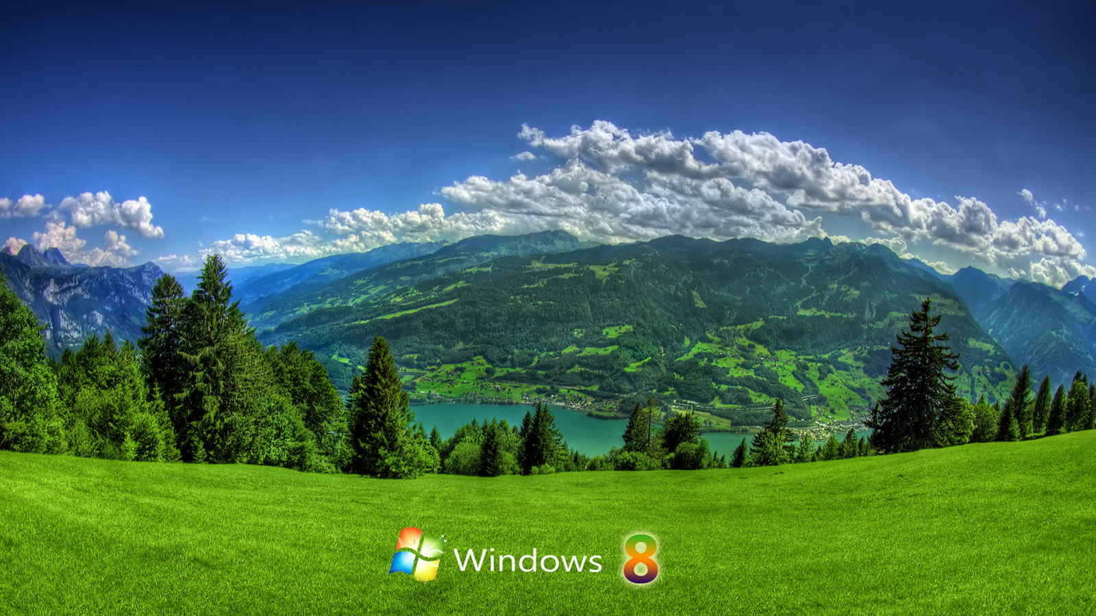 Scenic Windows 8 wallpaper