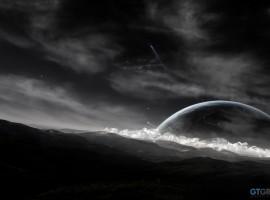 Starlit Night Wallpaper