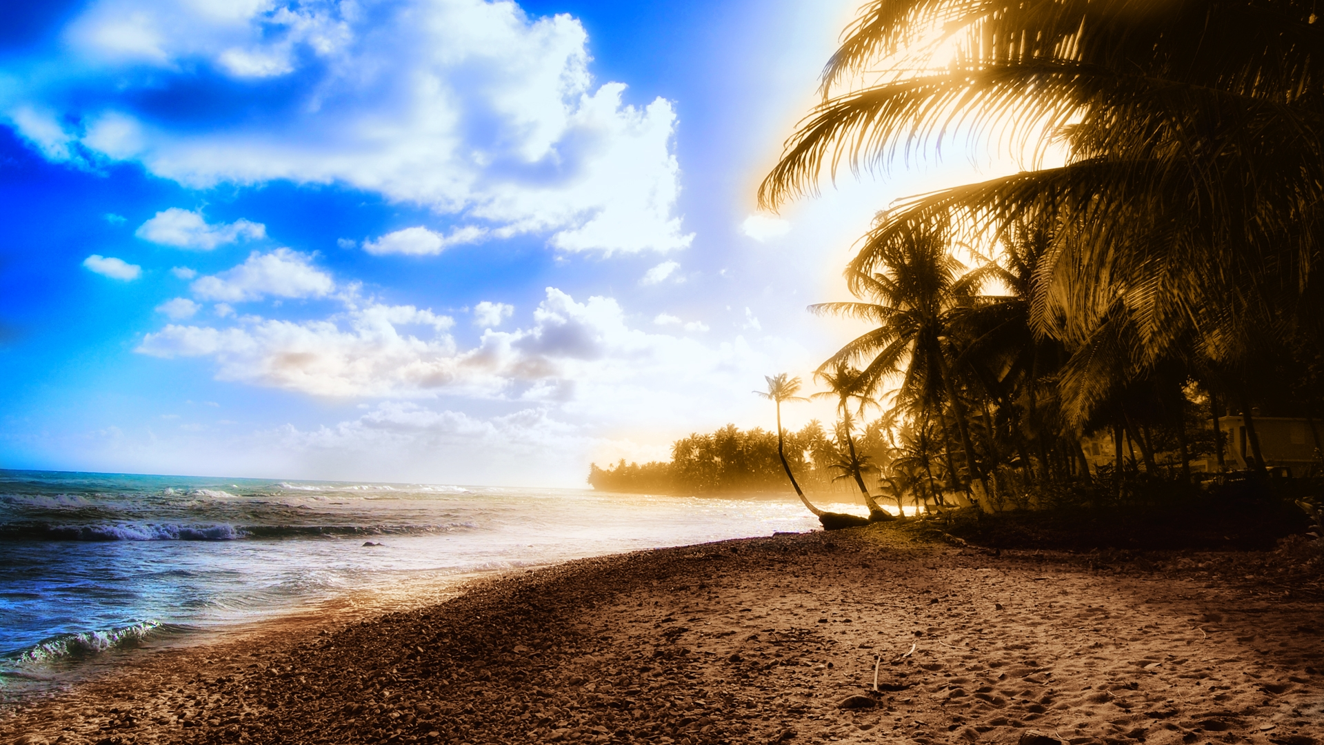 Stunning Beach Wallpaper Hd Wallpapers