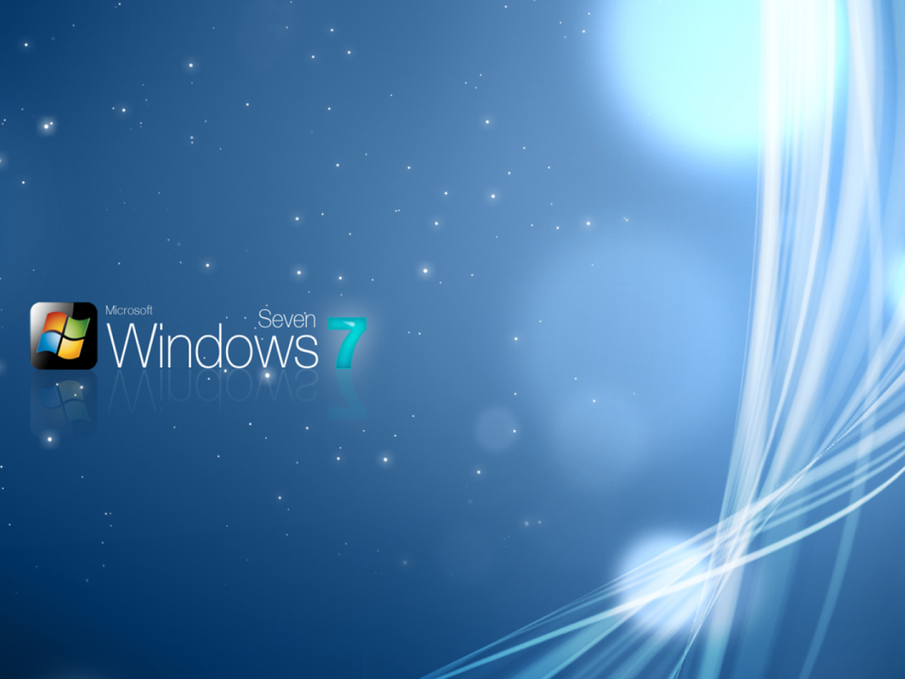 Windows 7 Sparkly Wallpaper Hd Wallpapers