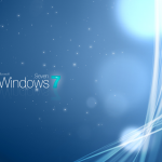 Windows 7 Sparkly Wallpaper
