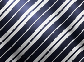 Blue and White Stripes