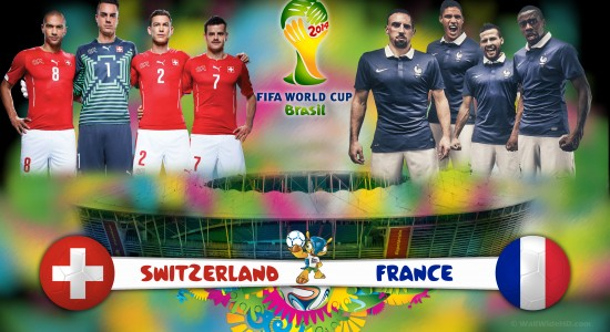 Group E Switzerland - 2014 World Cup