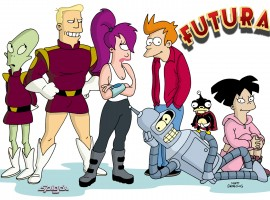 HD Desktop Futurama Wallpaper