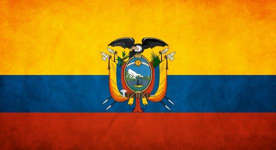 HD Ecuador Flag Wallpaper