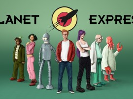Lifelike Planet Express – Futurama