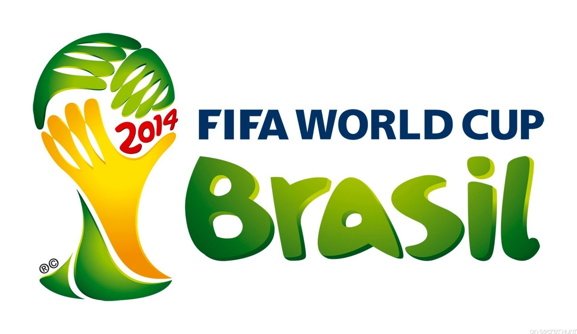 Official 2014 Fifa World Cup Brazil Logo
