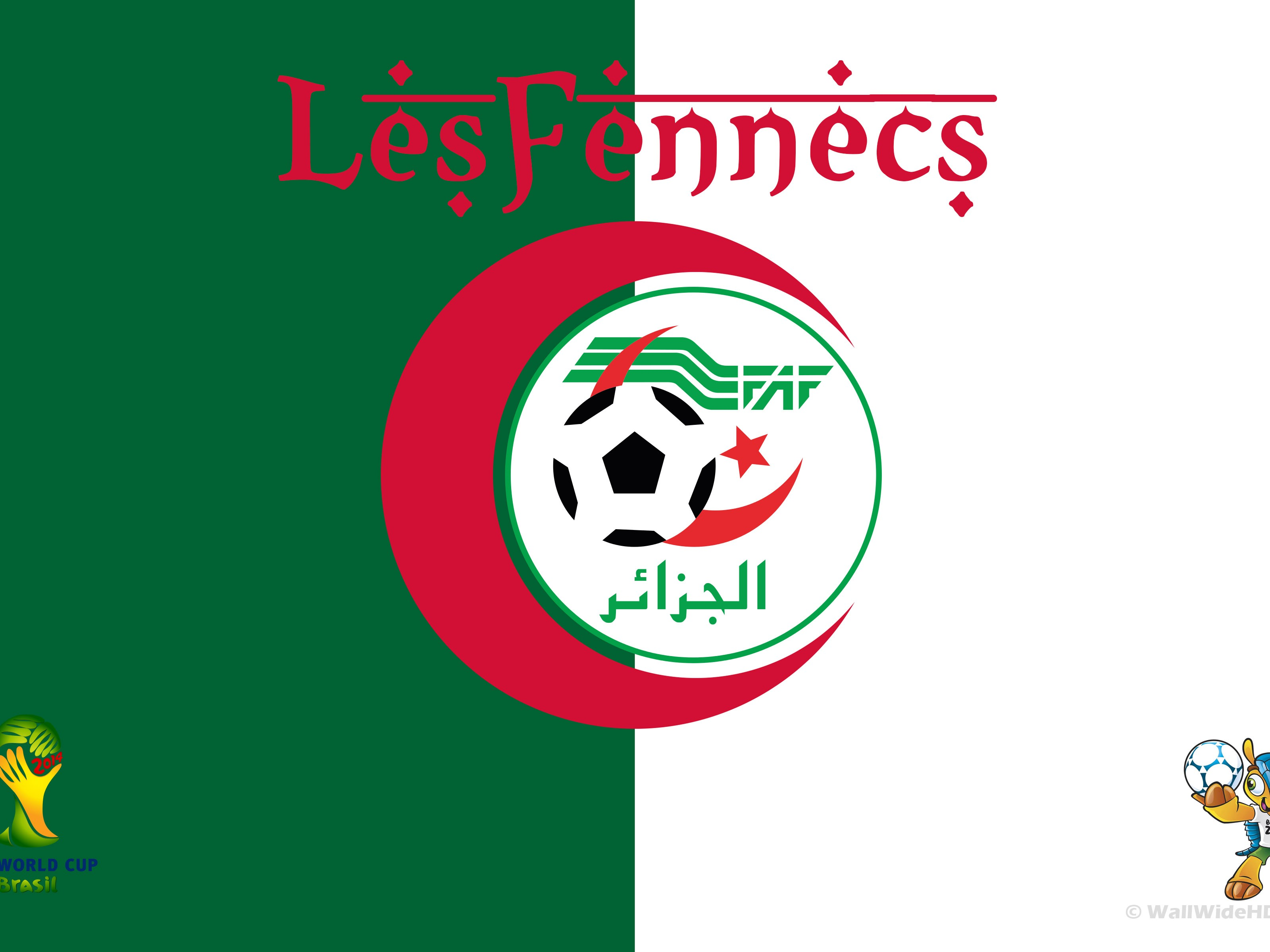 Round of 16 – Algeria World Cup