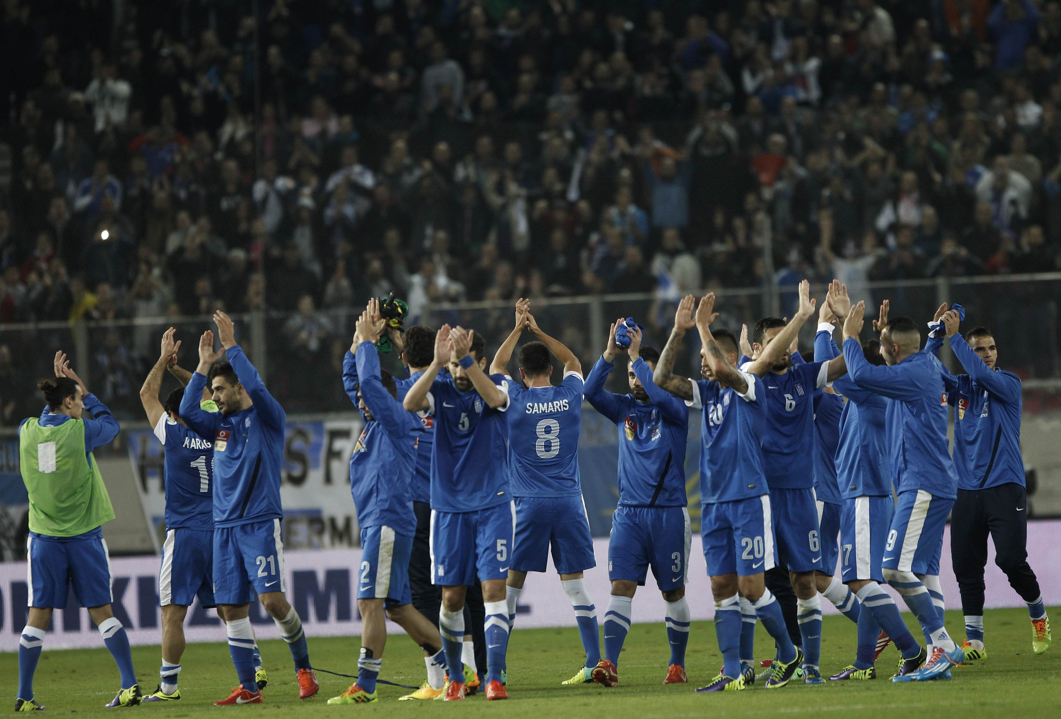 Round of 16 – Greece World Cup