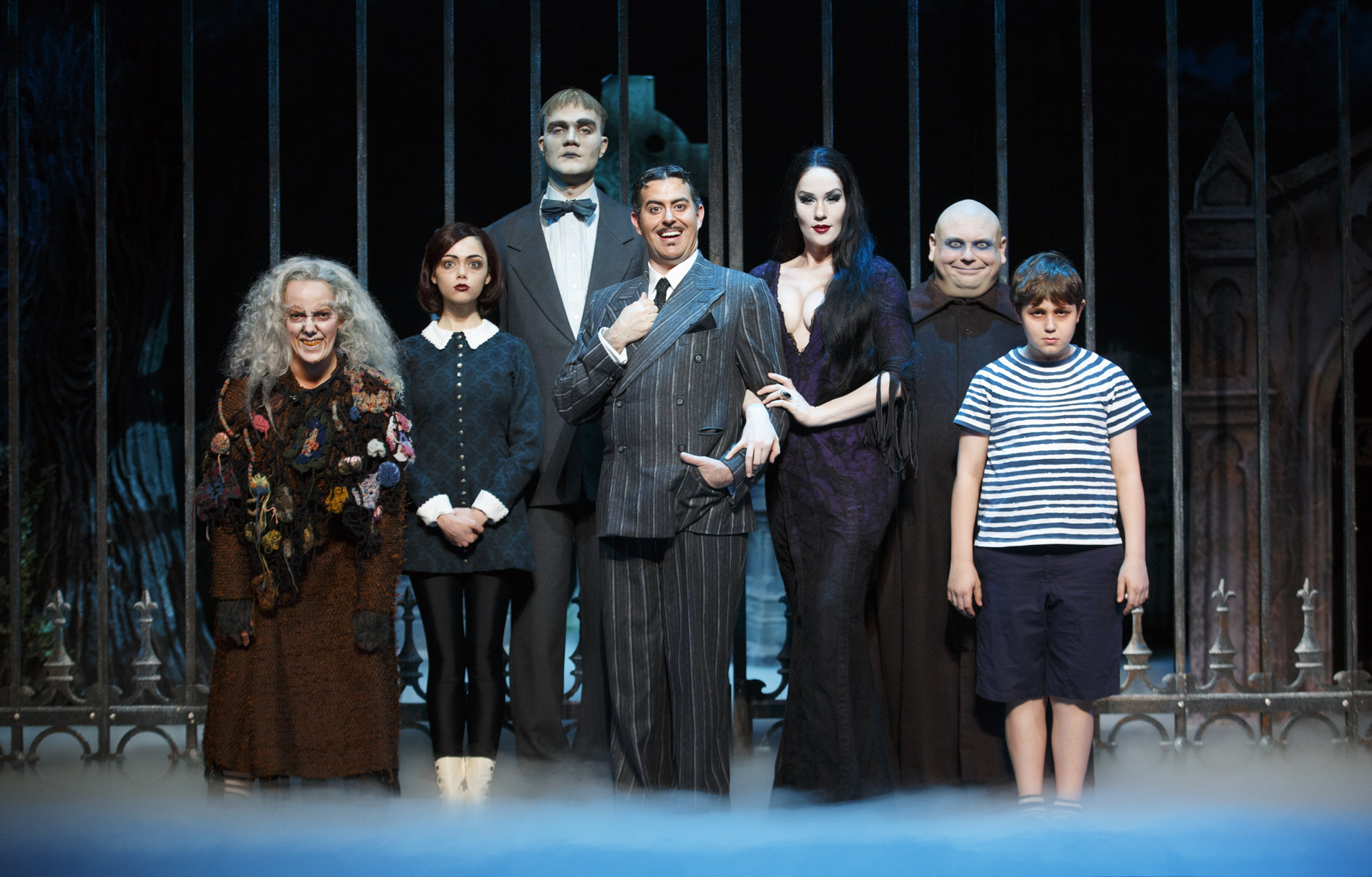 The Addams Family On Stage Hd Wallpapers