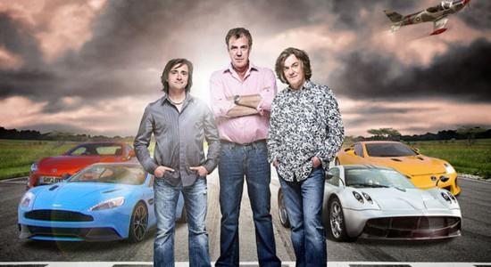 Top Gear Promo Shoot