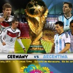 Germany Vs Argentina 2014 World Cup Final
