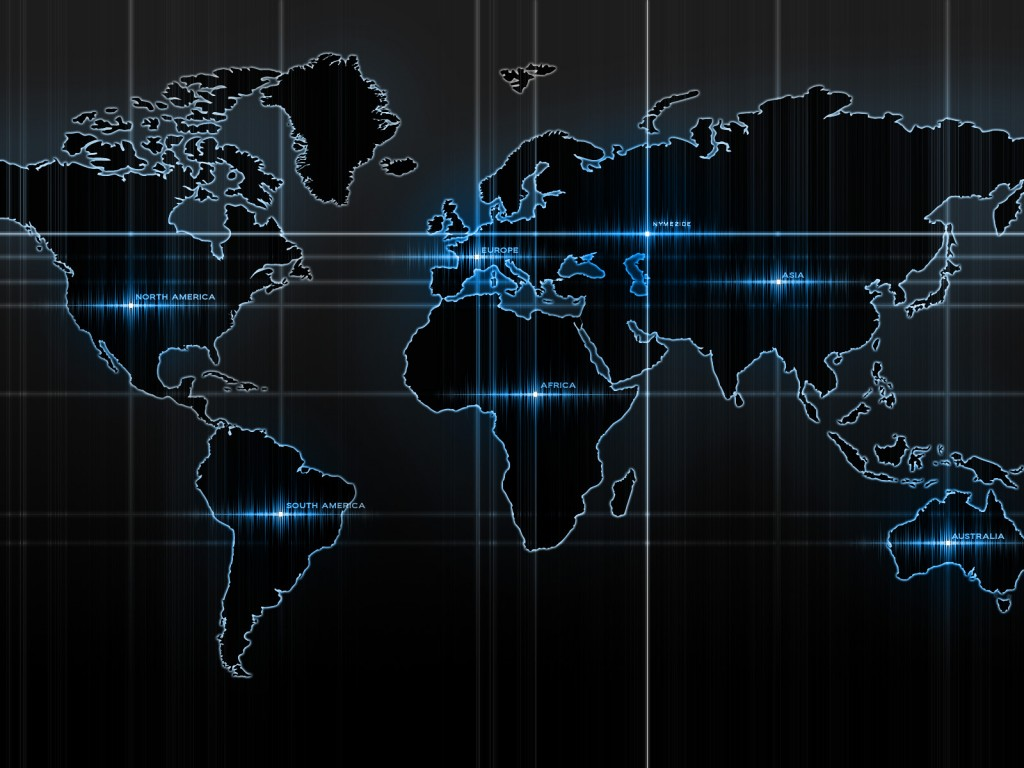 Computer lit world map hd wallpapers computer lit world map good quality wallpaper gumiabroncs Images