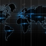 Computer Lit World Map