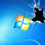 Cracked Windows Wallpaper