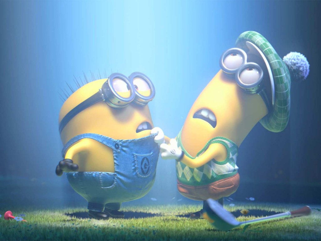 minion beam down - hd wallpapers