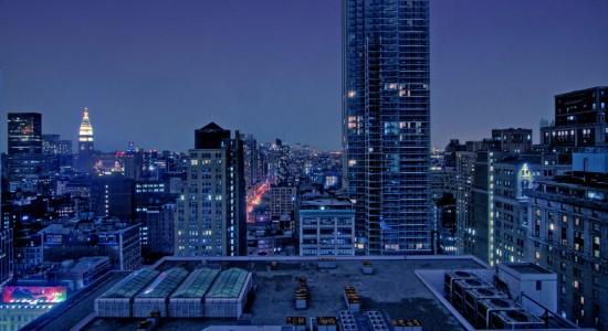Rooftops Wallpaper