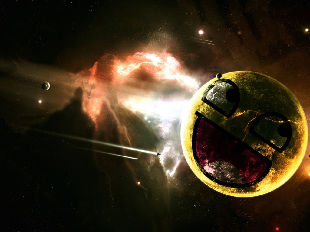 Laughing Face Comet - HD Wallpapers