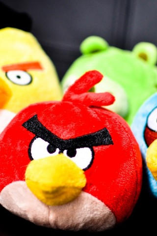 Plush Angry Birds Wallpaper Hd Wallpapers