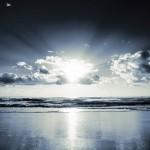 At The Seaside – Black & White