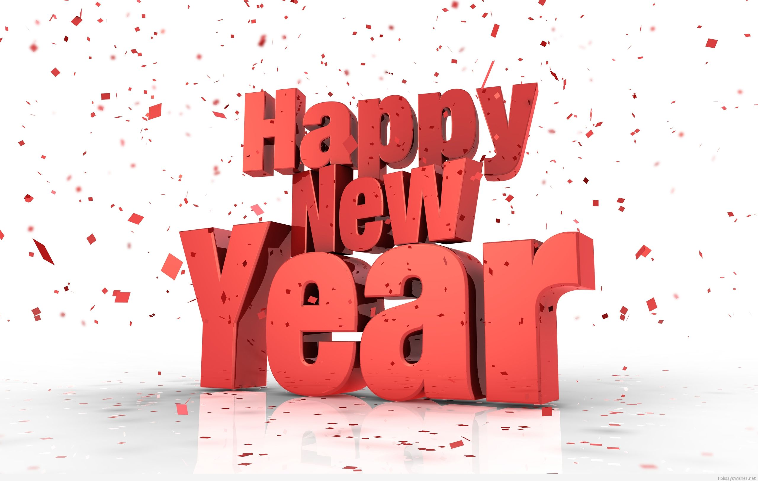 Happy New Year HD Wallpaper