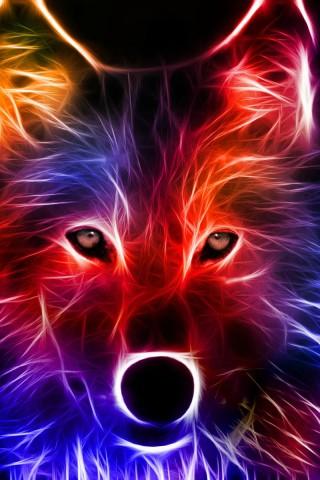 Light Effect Wolf Hd Wallpapers