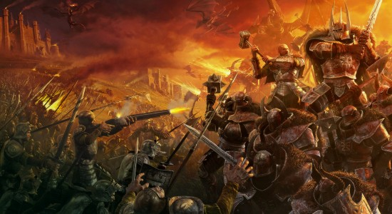 Mythical Battle Scene