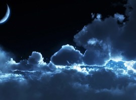 Night Sky Clouds