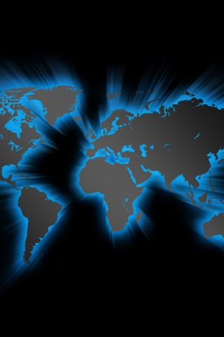 Blue effect world map hd wallpapers blue effect world map iphone wallpaper gumiabroncs Images