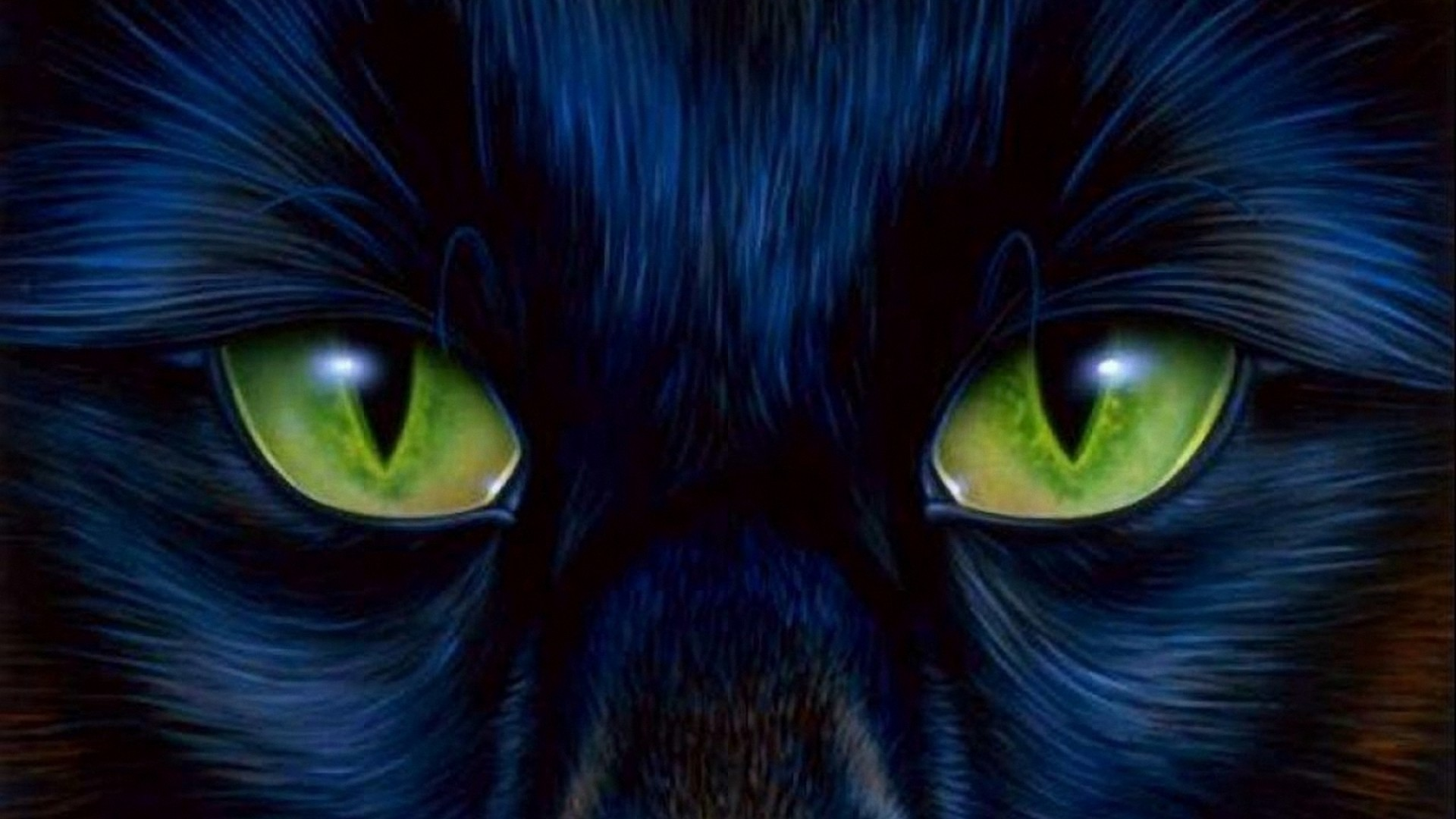 Green Cats Eyes Hd Wallpapers