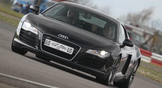 Black Audi R8 V8 Supercar