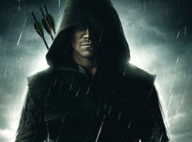 Green Arrow Action Hero Wallpaper