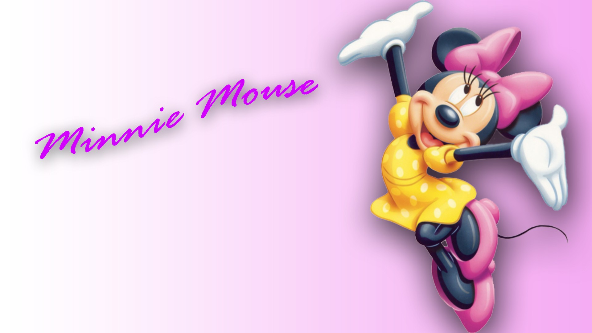 Minnie Mouse Cute Wallpaper - HD Wallpapers