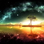 Surreal Space Wallpaper