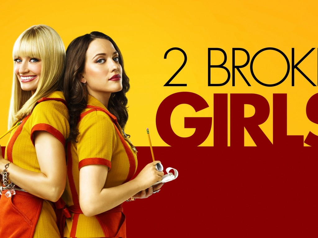 tv 2 broke girls wallpaper - hd wallpapers