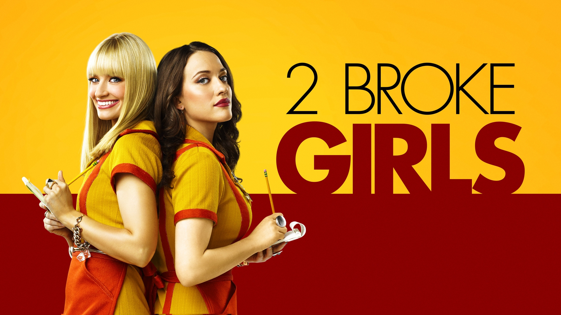 TV 2 Broke Girls Wallpaper