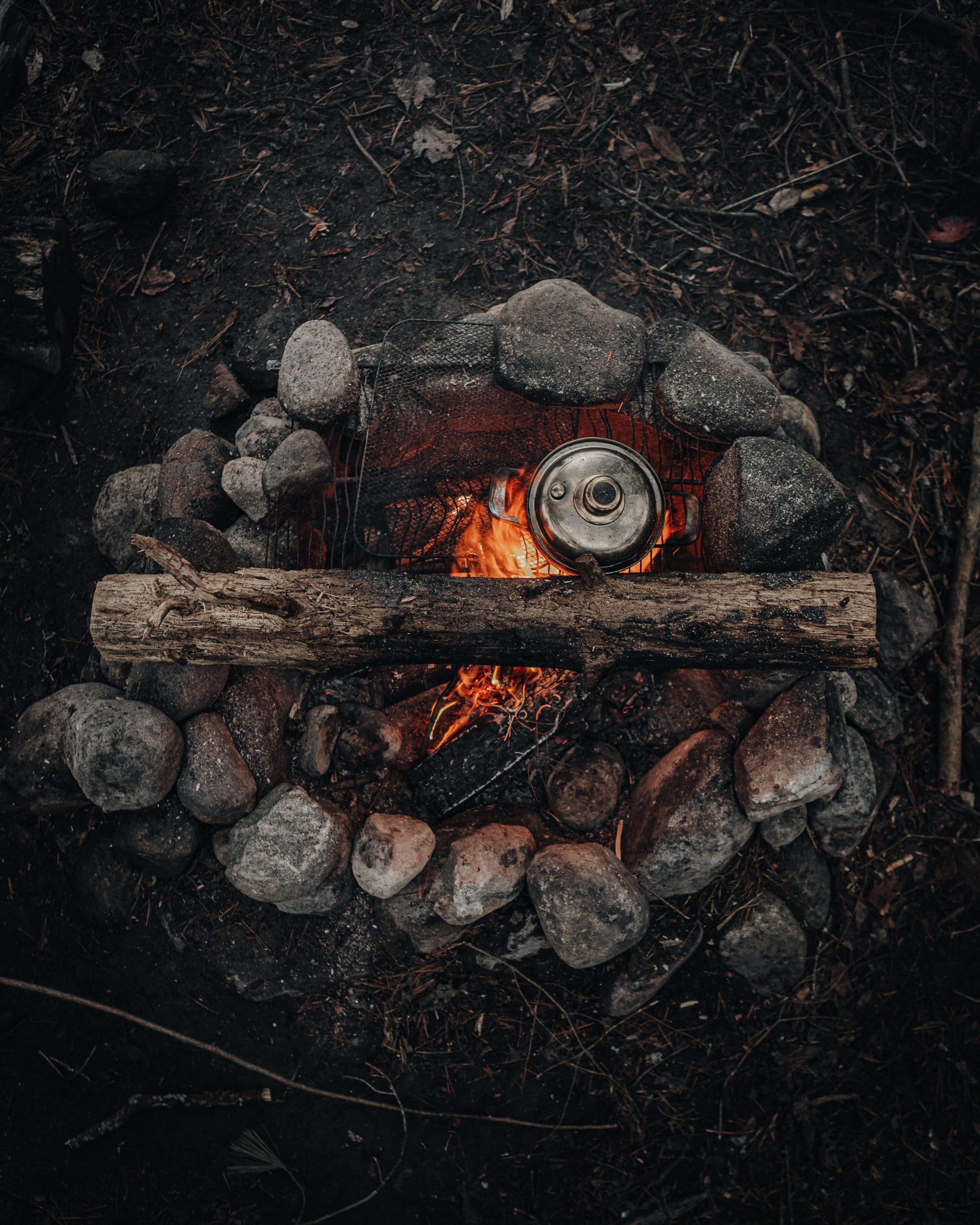 Blazing Bonfire Wallpaper