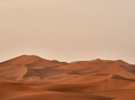 Encapsulation of remarkable dunes in a Desert!