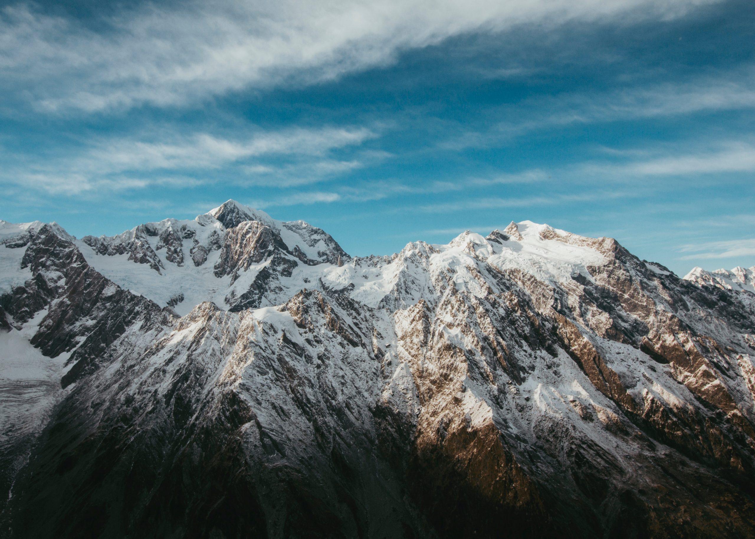Marvelous Snowcapped Peaks