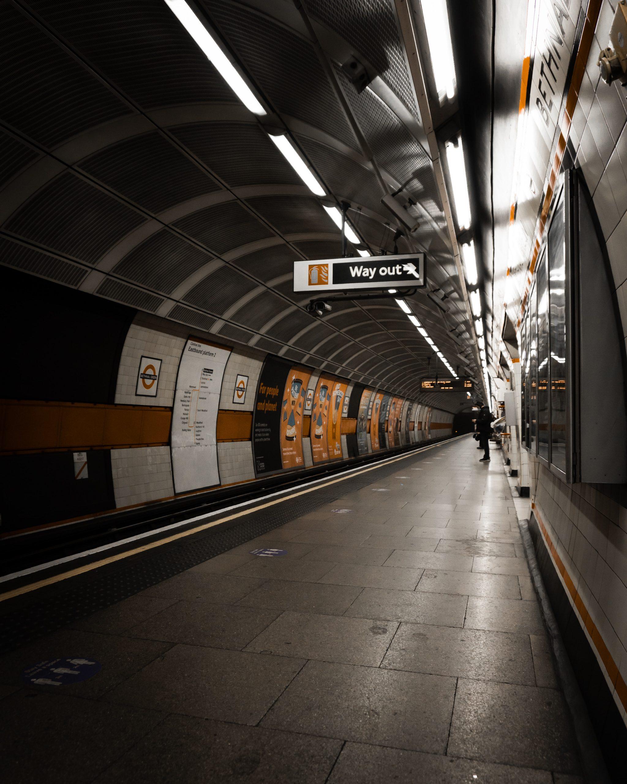 Metro Station Wallpaper
