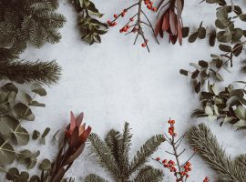 Christmas Garland Wallpaper