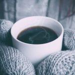 Coffee in Winters Wallpaper